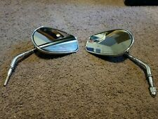 HARLEY DAVIDSON. SIDE rear MIRRORS Pair Set Used - LEFT AND RIGHT...
