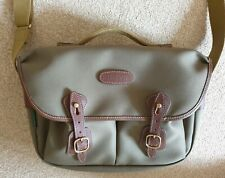 Billingham Hadley Pro - Sage FibreNyte/Chocolate Leather - Only Used Once