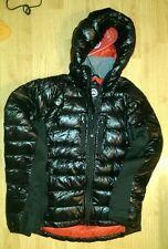 CANADA GOOSE Men's Hybridge Lite Down Hooded (Hoody) Jacket, M, BLACK AND RED
