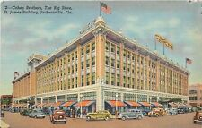 Jacksonville FL~Cohen Brothers The Big Store~Department Store~1948 Linen PC