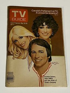 TV Guide May 20-26 1978 Three's Company Cast Western New York Edition No Label!