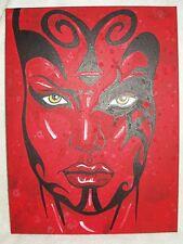 Canvas Painting Star Wars Darth Talon Red B Art 16x12 inch Acrylic