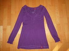 Esprit Damen Shirt Longshirt Gr.S Gr.36 Longsleeve Tunika Shirt Boho Ibiza