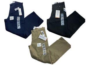 Boys Old Navy Straight Uniform Pants - Black, Khaki, or Navy NWT