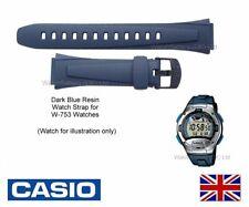GENUINE Casio Watch Strap Band for W-753, W 753, W753, W-753-2A 10183358 - BLUE