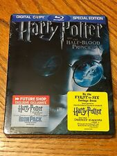 Blu Ray DVD Steelbook Harry Potter Half-Blood Prince Sealed Futureshop Exclusive