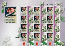 ISRAEL 2015 70th ANNIVERSARY END OF WW 2 SHEET U.S AIR FORCE MNH