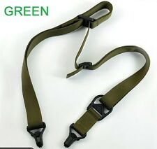 Green Rifle Sling Quick Release 1, 2 Point Strap for Magpul plate adapters