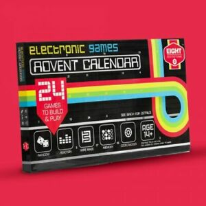 Hayes Electronic Games Advent Calendar DIY Build Your Own Games STEAM