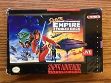 SUPER NINTENDO STAR WARS EMPIRE STRIKES BACK GAME ITEM #1049-30