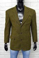 Giacca HUGO BOSS Uomo Taglia 46 Blazer Jacket Man Vintage Coat Lana Vergine