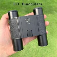 10×25 ED Binoculars Waterproof SMC Coating Lens Compact Folding Camping Hunting
