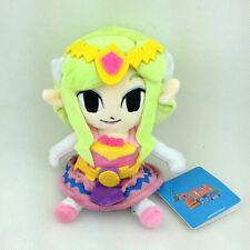 "The Legend of Zelda Character Wind Waker Princess Stuffed Animal Plush Toy 7"""