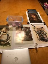 4 Vintage Goebel Collector'S Club~M.I. Hummel Poster Prints~4 Different Prints
