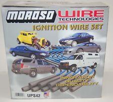 Moroso Ignition Wire Set 8mm, Isuzu Trooper 3.2L V6 Spark Plug Wire Set P/N 9489