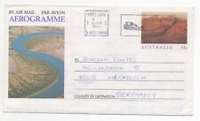 1990 AUSTRALIA Aerogramme Cover PROSPECT ADELAIDE - MEERBUSCH GERMANY Stationery