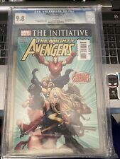 The Mighty Avengers 1 CGC 9.8 5/07 The Initiative , COA Dynamic Forces {CGCB2}