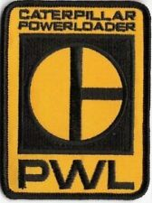 "#316 CAT POWERLOADER"" Caterpillar PWL Logo iRon-on Embroidered Patch Aliens19"
