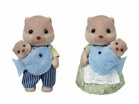 Sylvanian Families OTTER FAMILY FS-32 from Japan *