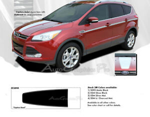 2013-2019 Ford Escape Hood Decals Vinyl Graphics CAPTURE 3M Pro Stripes