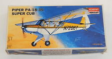 Academy Minicraft O Scale 1:48 Piper Super Cub Airplane #1611