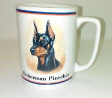 Doberman Pinscher Dog Mug Cup Ceramic R maystead by Papel