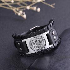 Amulet The Second Pentacle of Jupiter Key of Solomon Charm Belt Buckle Bracelet