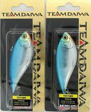 (2) Team Daiwa 3/4 Oz. TD Vibration 108 Lipless Crankbait BLUE SHINER TDV108S18