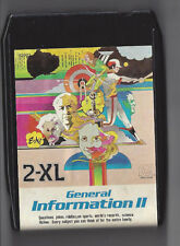 Mego 2-Xl Talking Robot 8 Track Tape General Information (Ii) 2 Toy W Rare Label