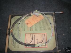 1939 -40 OLDSMOBILE REAR BRAKE CABLE G39 G40