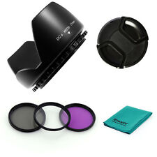77mm PETAL LENS HOOD + UV CPL FLD Filters + CAP for Nikon 70-200mm f/2.8G VR,NEW