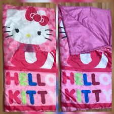 Hello Kitty Girl Sleeping Bag Pink Padded outdoor free shipping