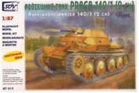SDV Plastic Model Kit 1/87 H0 PRAGA Tank 140/1 2CM Scout Car