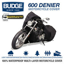 Budge Extreme Duty Motorcycle Cover Fits HARLEY-DAVIDSON DYNA WIDE GLIDE 2013
