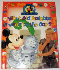 What did knights wear in the day? (Mickey wonders