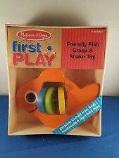 Melissa and Doug First Play Fish Grasp and Shake Toy 6 months+ 1