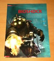 BioShock Big Daddy Little Sister Xbox 360 PS3 Promo Poster Ad Art Advertisement