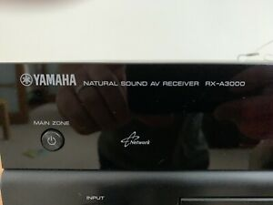 Yamaha RX-A3000 Aventage Multi-Zone A/V Receiver