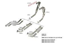 Collecteur inox RC Racing BMW e21 323i
