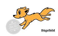 Bügelbild Fuchs Fox Wunschgröße -Farbe  XXL
