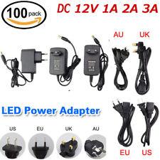 Nuevo Universal AC/DC Cargador 100-240 V 12 V 1/2/3A Adaptador De Fuente De Alimentación U.S./EU/UK/AU