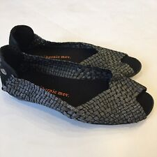 Bernie Mev Ladies Slip On Peep Toe Shoes Size 38