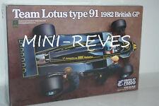 Ebbro Équipe Lotus Type 91 1982 Britannique GP 20012 1/20 Echelle