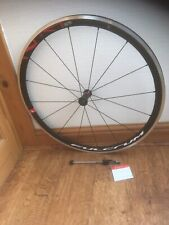 FULCRUM RACING 400 C17 CLINCHER FRONT WHEEL.  BRAND NEW, NEVER USED.