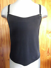 Sophina at Figleaves Size 30F Underwired Non Padded Tankini Top Black