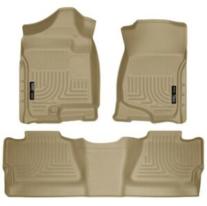 Husky Liners 98203 WeatherBeater Front/2nd Seat Floor Liners For Silverado 1500
