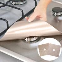 1/2Pcs reusable foil gas hob range stovetop burner protector liner cover kitc PQ