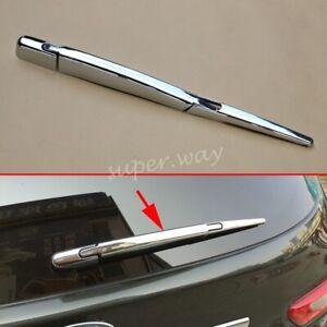 Chrome Rear Window Wiper Cover Trim Overlay For Nissan X-Trail T32/Qashqai J11
