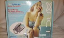 SKYPE XACT BROADBAND CORDED USB TELEPHONE iVo INTERNET TELEPHONE NEW! XVP620