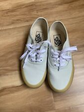 VANS 721454 Sneakers Mint Green Shoes Women Size 5.5 Pre-owned